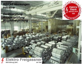 Maschinenprüfung DIN VDE 0113
